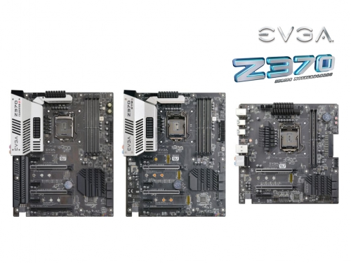 EVGA introduces its Z370-chipset motherboard lineup