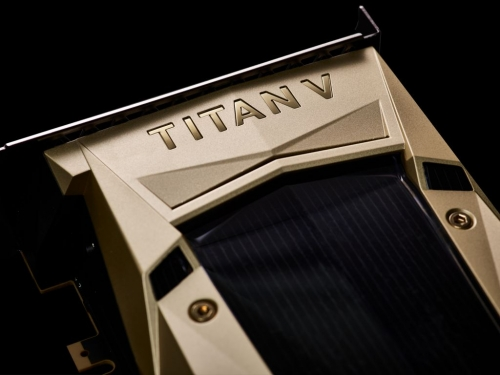 Nvidia pulls Titan V out of its hat