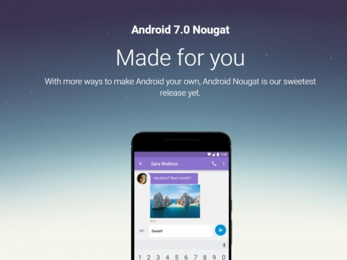 Google Android 7.0 Nougat rolling out now