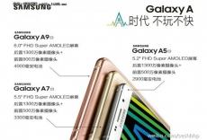 Samsung Galaxy A9 is super-sized
