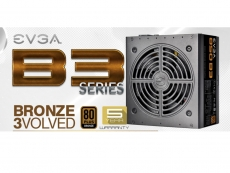 EVGA releases B3 series power supply units