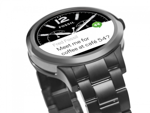 Fossil sexy Android wear available