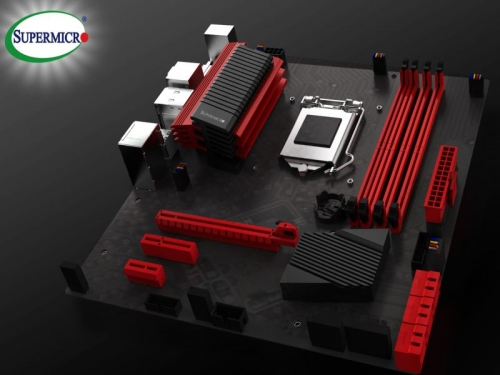Supermicro asks Fudzilla readers to choose color of motherboard